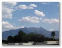 Santa Rita Mountains from Green Valley, Arizona